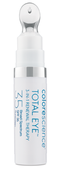 colorescience total eye product to avoid sun sin