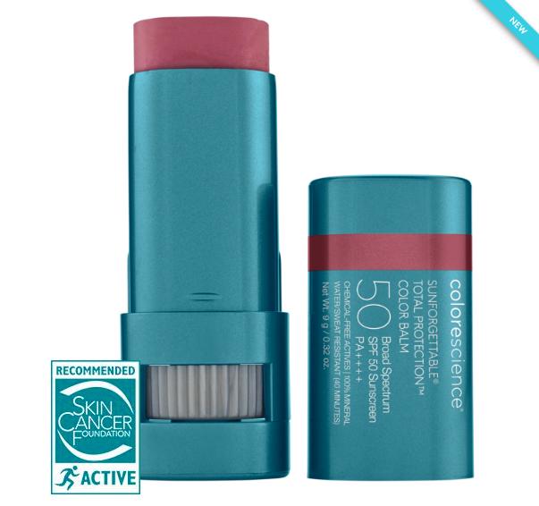 colorescience lip balm to avoid sun sin this summer