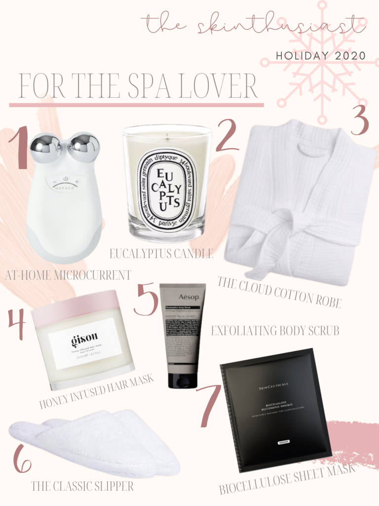 gifts for the spa lover | 2020 GIFT GUIDES