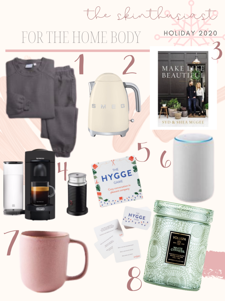gift guide home body | 2020 GIFT GUIDES