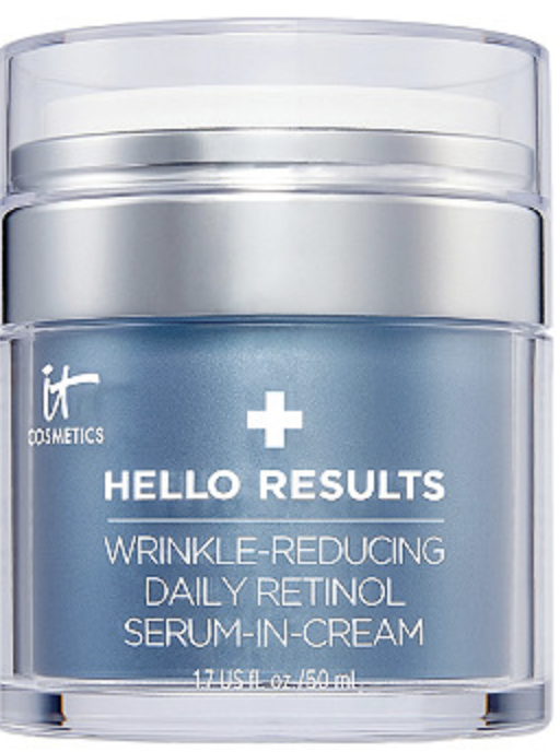 hello results retinol serum cream